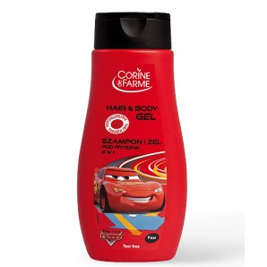 Corine de Farme Disney 2v1 Šampon a Sprchový gel 250ml Cars