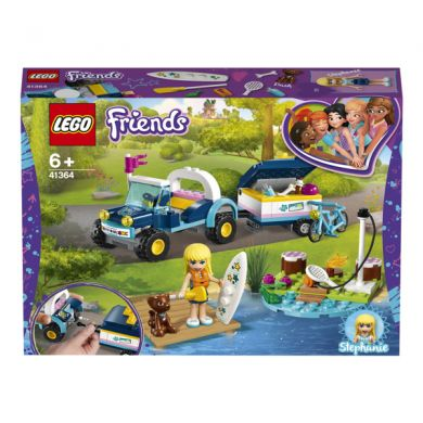 41364 LEGO Friends Stephanie a bugina s přívěsem