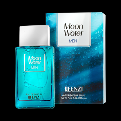 JFenzi Moon Water jako Davidoff Cool Water Men Pánská EDP 100ml Tester
