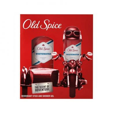 Old Spice Whitewater Kazeta Deo Stick, Sprchový gel