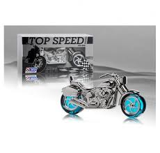 Top Speed Silver for men 50ml + 30ml v jedné motorce Kazeta
